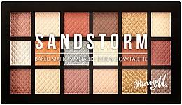 Kup Paleta cieni do powiek - Barry M Eyeshadow Palette Sandstorm