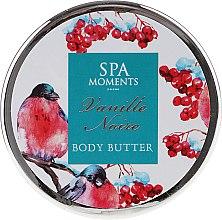 Zestaw - Spa Moments Vanille Noire (sh/gel 100 ml + b/lot 60 ml + butter 50 ml + salf 50 g + sh/sponge) — фото N6