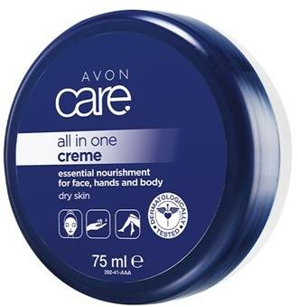 Uniwersalny krem odżywczy do twarzy, rąk i ciała - Avon Care All In One Creme — фото N1