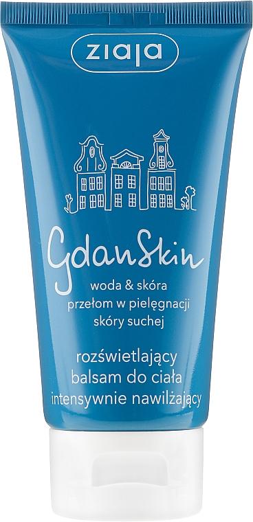 Rozświetlający balsam do ciała intensywnie nawilżający - Ziaja GdanSkin
