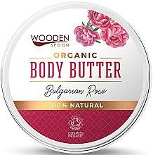 Kup Organiczne masło do ciała Róża bułgarska - Wooden Spoon Bulgarian Rose Body Butter