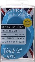 Kup Szczotka do włosów grubych i kręconych, niebieski - Tangle Teezer Thick & Curly Azure Blue