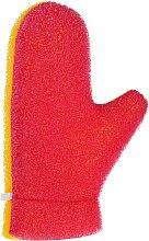 Kup Rękawiczka do masażu Aqua, 6021, żółto-różowa - Donegal Aqua Massage Glove