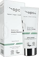 Kup Równoważący szampon micelarny do włosów przetłuszczających się - Yappco Balancing Hair Micellar Shampoo