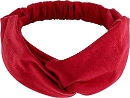 Kup Czerwona opaska na głowę Knit Twist - Makeup