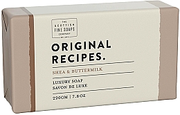 Kup Mydło z masłem shea i maślanką - Scottish Fine Soaps Original Recipes Shea & Buttermilk Luxury Soap Bar