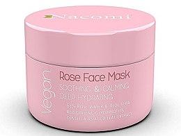 Kup Kojąco-uspokajająca głęboko nawilżająca maska do twarzy z wodą różaną i aloesem - Nacomi Rose Face Mask