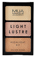Kup Paleta rozświetlaczy - MUA Light Lustre Trio Highlight