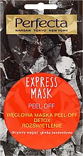 Kup Węglowa maska do twarzy peel-off Detox i rozświetlenie - Perfecta Express Mask