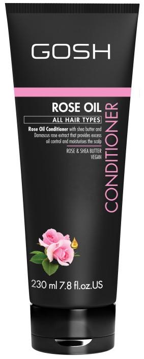 Odżywka do włosów przetłuszczających się z olejem różanym - Gosh Rose Oil Conditioner