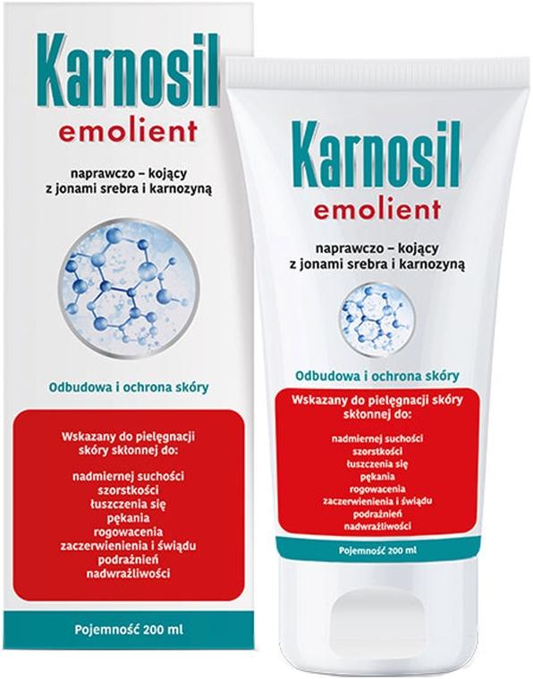 Emolient naprawczo-kojący z jonami srebra i karnozyną - Deep Pharma Karnosil