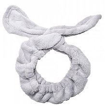 Kup Opaska kosmetyczna do włosów Uszy, szara - Dr. Mola Rabbit Ears Hair Band
