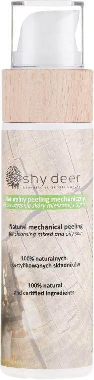 Naturalny peeling mechaniczny do oczyszczania skóry mieszanej i tłustej - Shy Deer — фото N1