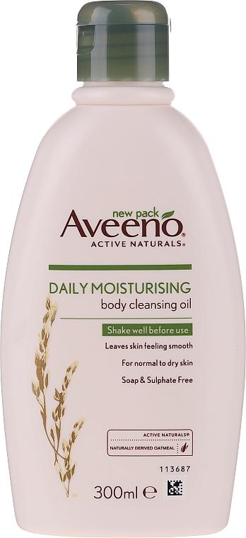Nawilżająco-oczyszczający olejek do ciała - Aveeno Daily Moisturising Bath & Shower Oil — фото N1