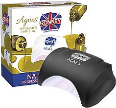 Kup Lampa LED do paznokci, czarna - Ronney Professional Agnes LED 48W (GY-LED-032)