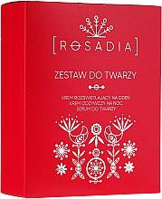 Kup Zestaw do pielęgnacji twarzy - Rosadia (2 x cr 50 ml + ser 30 ml)