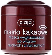 Kup Wygładzająca maska do włosów suchych i zniszczonych - Ziaja Masło kakaowe