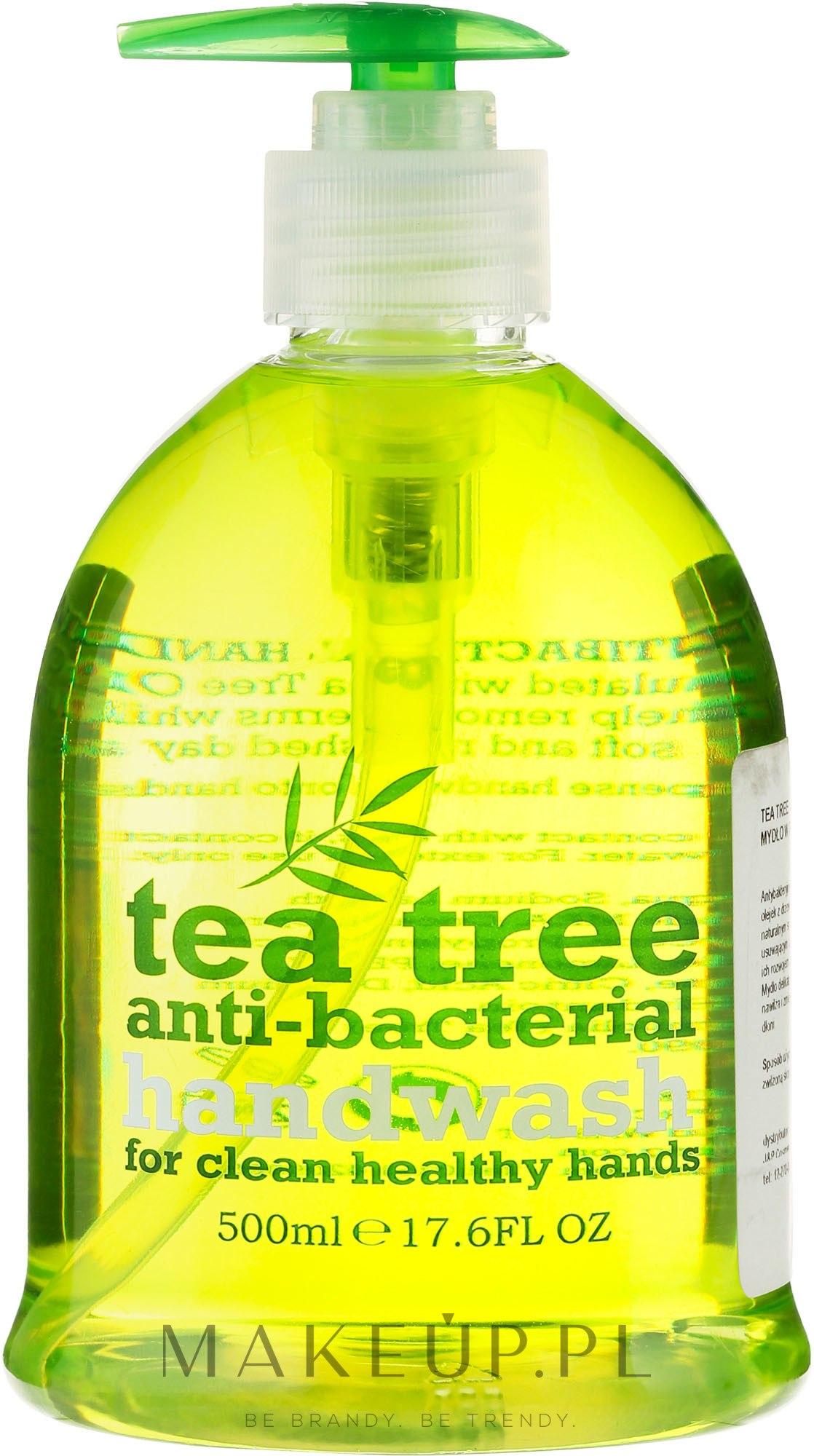 Antybakteryjne mydło w płynie do rąk Drzewo herbaciane - Xpel Marketing Ltd Tea Tree Anti-Bacterial Handwash — фото 500 ml