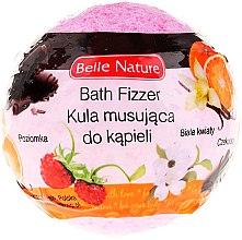Kup Kula musująca do kąpieli, różowa - Belle Nature