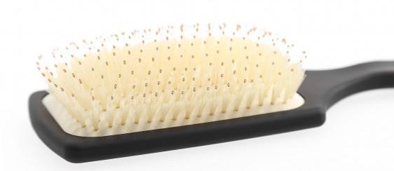 Szczotka do włosów z naturalnego włosia, prostokątna - Kashoki — фото N3