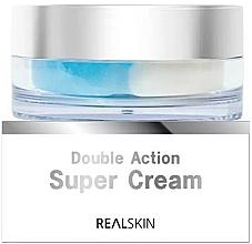 Kup Odżywczy krem do twarzy o podwójnym działaniu - Real Skin Double Action Super Cream