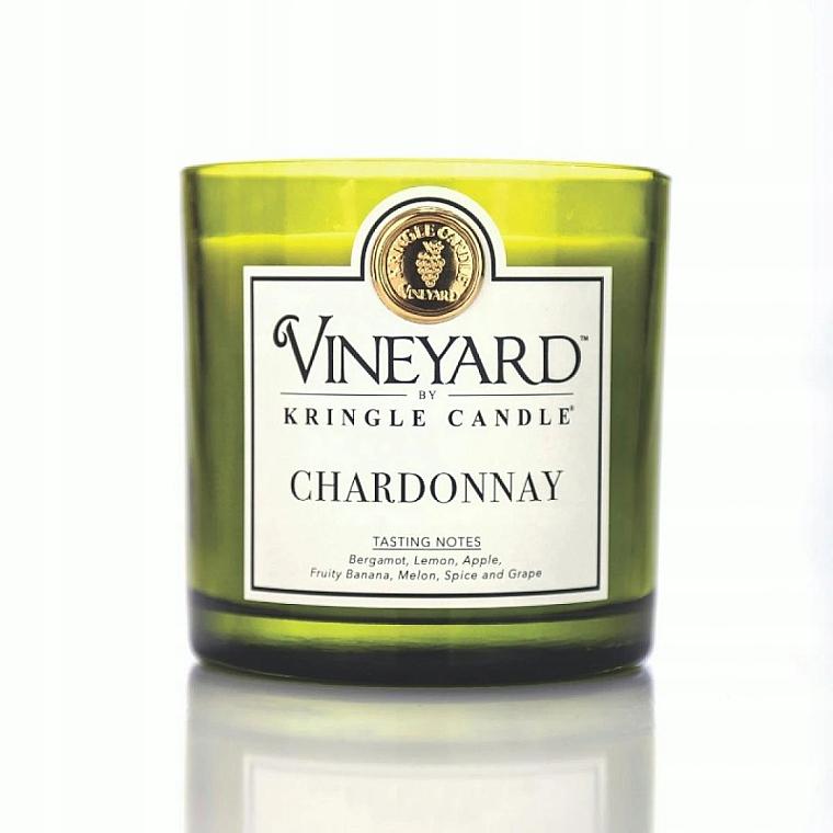 Świeca zapachowa w szklance - Kringle Candle Chardonnay — фото N1