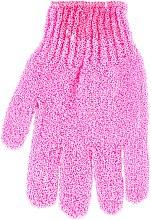 Kup Rękawiczka do kąpieli 30178, różowa - Top Choice