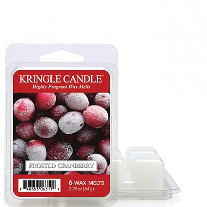 Wosk aromatyczny - Kringle Candle Frosted Cranberry Wax Melt — фото N1