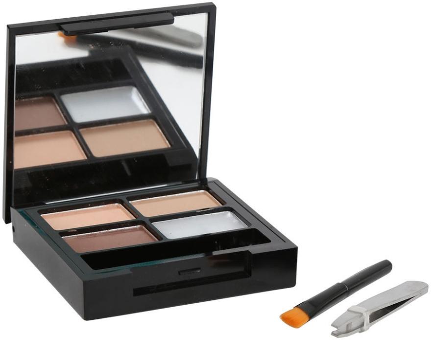 Zestaw do stylizacji brwi - Makeup Revolution Focus & Fix Brow Kit