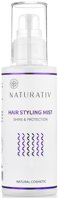 Naturalna mgiełka do układania włosów - Naturativ — фото N1