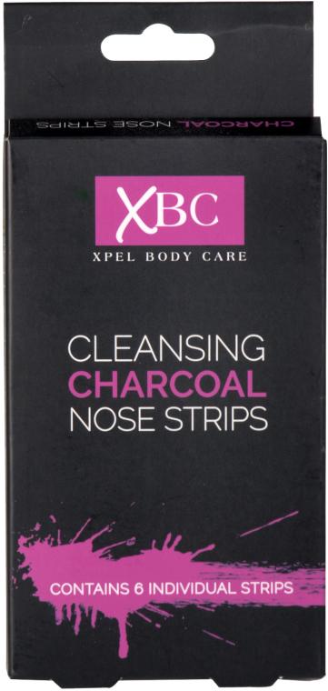 Oczyszczające plastry węglowe na nos - Xpel Marketing Ltd Body Care Cleansing Charcoal Nose Strips