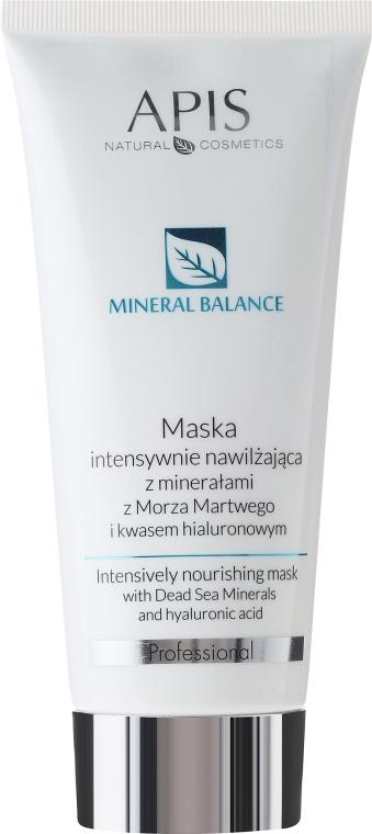 Maska intensywnie nawilżająca z minerałami z Morza Martwego - APIS Professional Hydro Balance