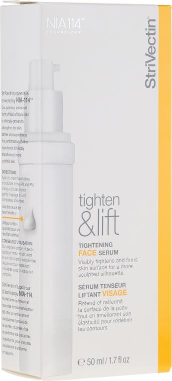 Ujędrniające serum do twarzy - StriVectin Tighten & Lift Tightening Face Serum — фото N3