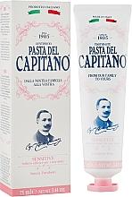 Kup Pasta do wrażliwych zębów - Pasta Del Capitano Premium Collection Sensitive Toothpaste