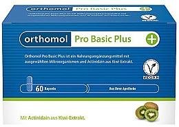 Kup Witaminy probiotyczne + ekstrakt z kiwi w kapsułkach - Orthomol Pro Basic Plus
