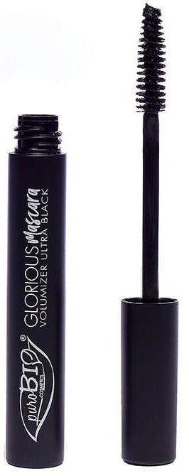 Pogrubiający tusz do rzęs - PuroBio Cosmetics Glorious Volumizing Mascara — фото N1