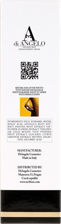 Krem powiększający biust - Di Angelo No.1 Bust Cream — фото N3