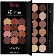 Paleta cieni do powiek - Sleek MakeUP i-Divine Mineral Based Eyeshadow Palette A New Day — фото N2
