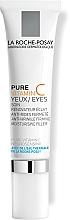 Kup Pod oczy intensywnie nawilżająca i ujędrniająca pielęgnacja przeciwzmarszczkowa z czystą witaminą C - La Roche-Posay Pure Vitamin C Eyes