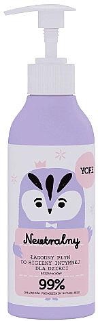 Naturalny, łagodny płyn do higieny intymnej dla dzieci - Yope