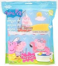 Kup Zestaw gąbek Świnka Peppa, 3szt. Nad morzem - Suavipiel Peppa Pig Bath Sponge
