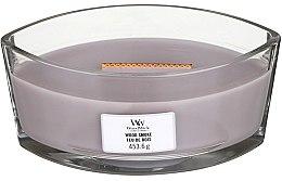Kup Świeca zapachowa w szkle - Woodwick Hearthwick Flame Ellipse Candle Wood Smoke