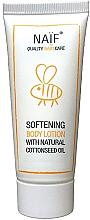 Kup Zmiękczający balsam do ciała z olejem bawełnianym dla dzieci - Naif Baby Softening Body Lotion (miniprodukt)