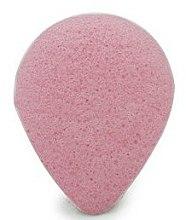 Kup Gąbka konjac do mycia twarzy, kropla Róża - Bebevisa Konjac Sponge