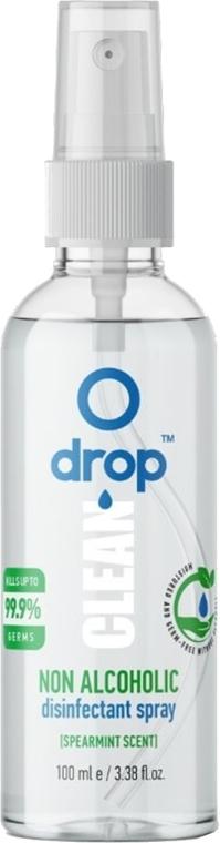 Dezynfekujący spray do rąk z miętowym aromatem, bez alkoholu - Drop Clean Non-Alcoholic Disinfection Spray — фото N1