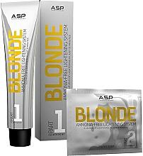 Kup Zestaw - Affinage Salon Professional Blonde Lightening System Intro (hair/cr/3x60ml + pouder/12x25g)