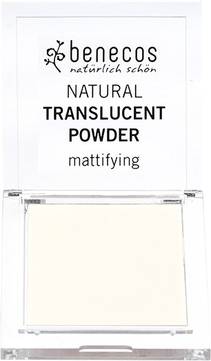 Matujący puder transparentny - Benecos Natural Translucent Powder Mission Invisible — фото N1