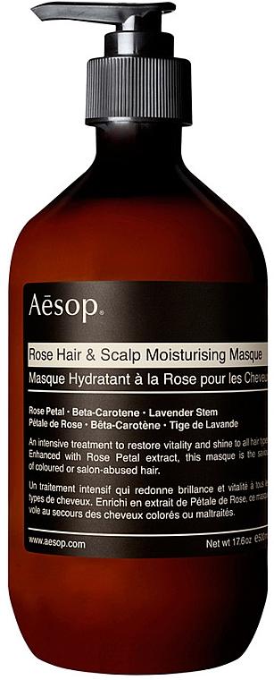 Nawilżająca maska do włosów i skóry głowy - Aesop Rose Hair & Scalp Moisturising Mask — фото N1