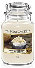 Kup Świeca w szklanym słoju - Yankee Candle Coconut Rice Cream Votive Candle