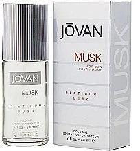 Kup Jovan Platinum Musk For Men - Woda kolońska